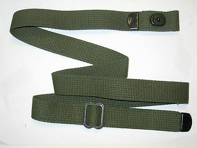 M1 CARBINE RIFLE SLING (repro), cotton web inland, rockola,, winchester, ww2