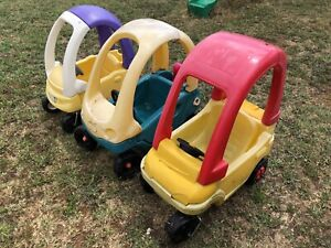 Little tikes cars and water tables also for sand and sensory tables