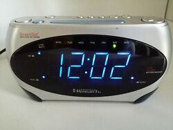Emerson Research Smart Set Digital Dual Alarm AM/FM Clock Radio CKS1862