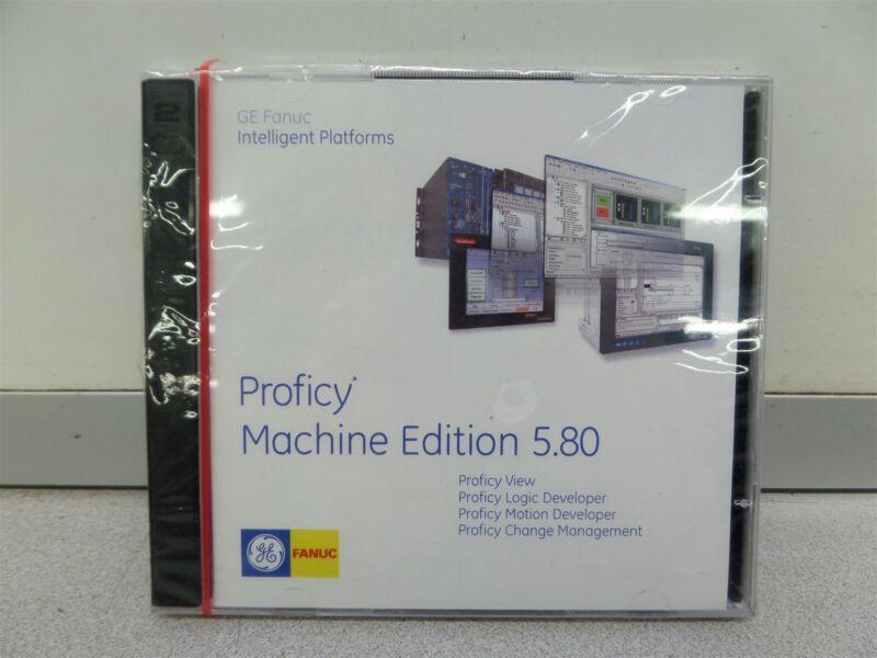 GE Fanuc Proficy Machine 5.80 Software NEW