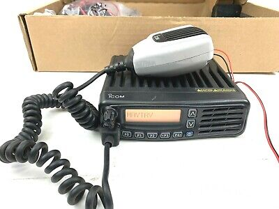 Icom Ic-f6061d 512 Channel Uhf Mobile Transceiver Radio With Microphone