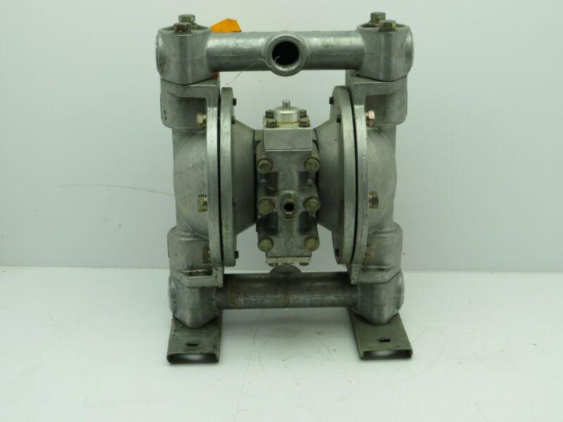 "Air Pneumatic Diaphragm Pump Aluminum 1"" NPT (NO TAG) Tested"