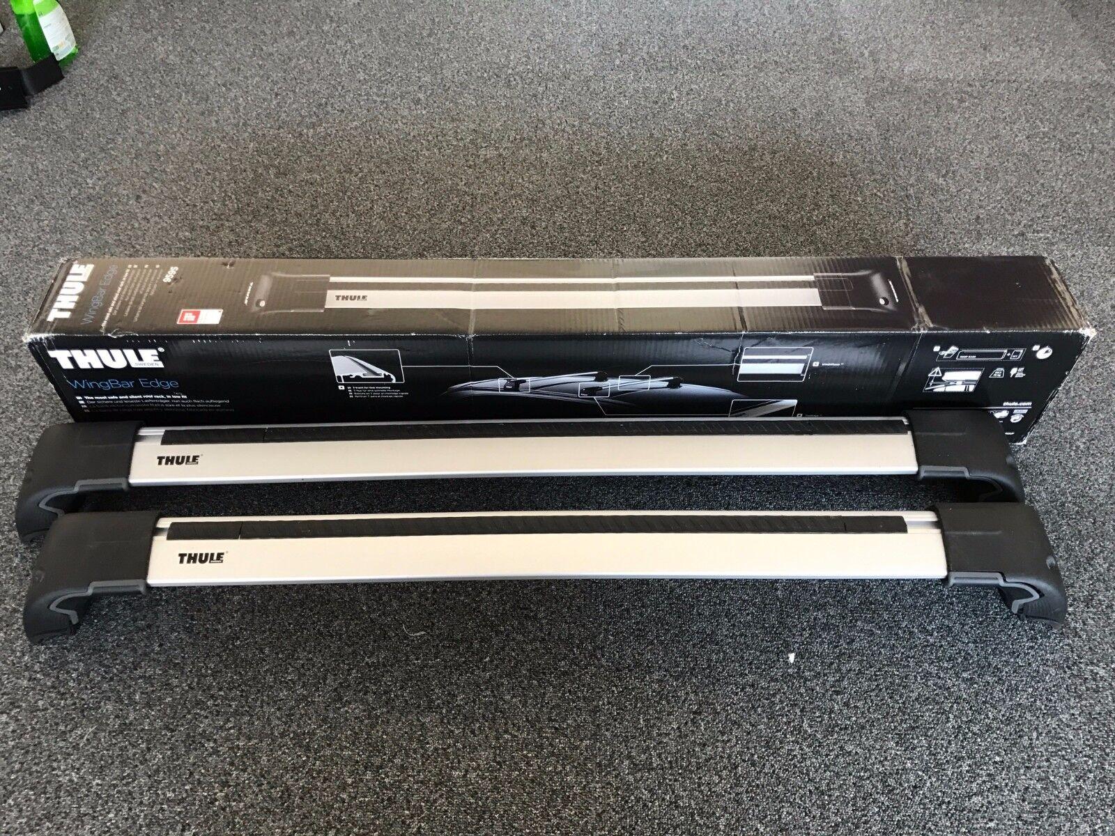 Barres de toit Thule WingBar Edge 9595 + kit 4035 Audi A3 S3 RS3 8V Sportback