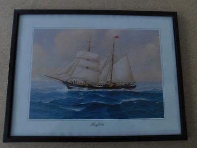 "Schoner-Brigg ""Mayfield"" erbaut 1862 in Sunderland UK"