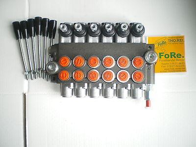 Steuerventil Hydraulikventil 50liter Holzspalter Hydraulik Steuergerät Forstkran
