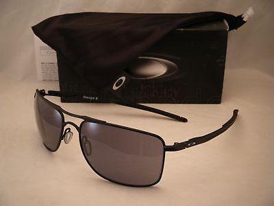 Oakley Gauge 8 Matte Black w Grey Lens NEW sunglasses