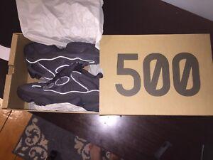 Adidas yeezy 500 utility black DS size 8.5