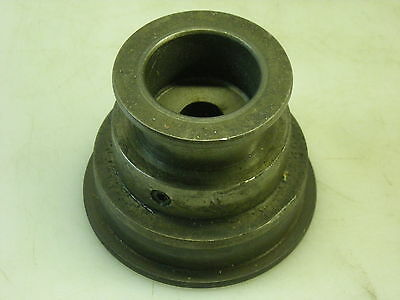 3 Speed Step Pulley For A Mikron 79 Gear Hob Hobber Hobbing - See Description