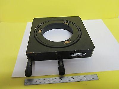 Newport Laser Optics 620-4 Nrc Optical Stage Table Micrometer As Is Bint8-03