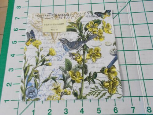 """Two Decorative Luncheon Napkins for Decoupage """"Into the Woods"""""""