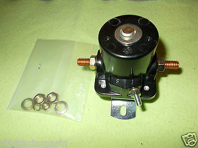 8n11450-12v Ford Tractor 12 Volt Starter Mounted Solenoid Relay 8n Heavy Duty