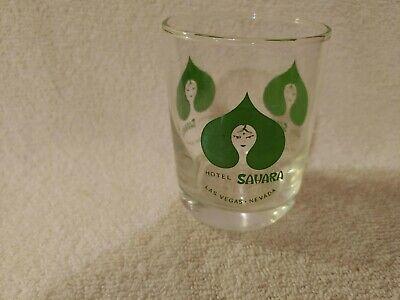 VINTAGE SAHARA LAS VEGAS COCKTAIL GLASS