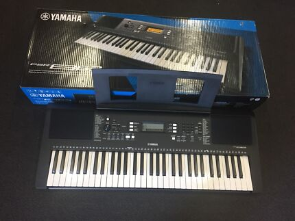 Cheapest brand new yamaha psr s975 keyboard keyboards pianos brand new yamaha keyboard with stand and headphones psr e363 fandeluxe Image collections