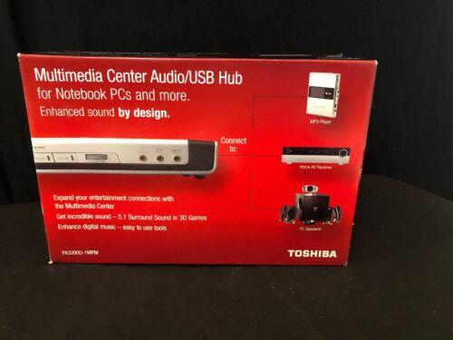 Toshiba Multimedia Center Audio USB Hub PA3390U-1MPM Laptop