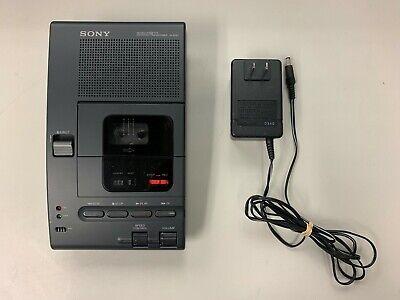Sony Microcassette Dictator Transcriber M-2020 Sony Handheld Mic Recorder