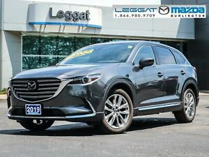 2019 Mazda CX-9 GT GT- LEATHER, MOONROOF, BOSE, BLUETOOTH, RE...