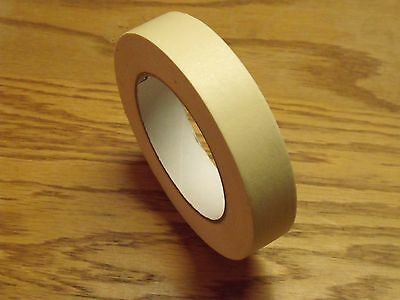 Case Of 12 Rolls - 1 X 60 Yards Each - Industrial Grade Masking Tape