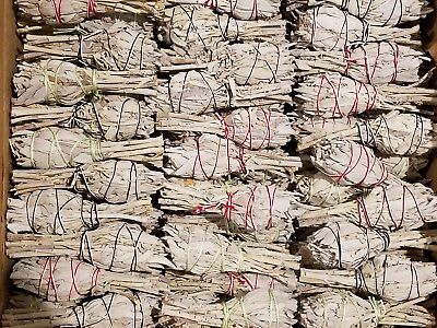 California White Sage Smudge Sticks Bulk Smudging Choose 1 3 5 10 50 Wholesale
