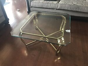 Coffee table set with side table and entrance table