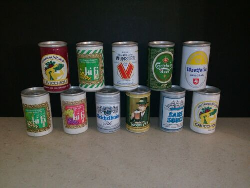 Alpa Cans Beer & Wine Lot of 11 Miniatures