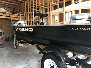 Legend 12 Ultralite and trailer FOR SALE