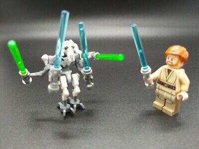 Lego Star Wars Mini Figures General Grievous And Obi Wan Kenobi Set 75040