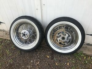 HARLEY DAVIDSON RIMS AND TIRES