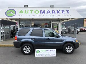 2006 Ford Escape XLT 4WD LEATHER! FINANCE IT!