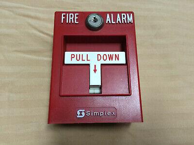 Simplex 4099-9001 Addressable Fire Alarm Pull Stations