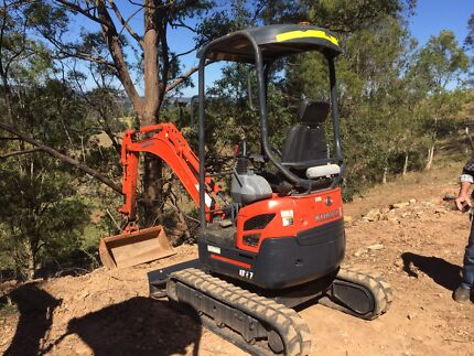 Mini Excavator Hire from $175 p/d