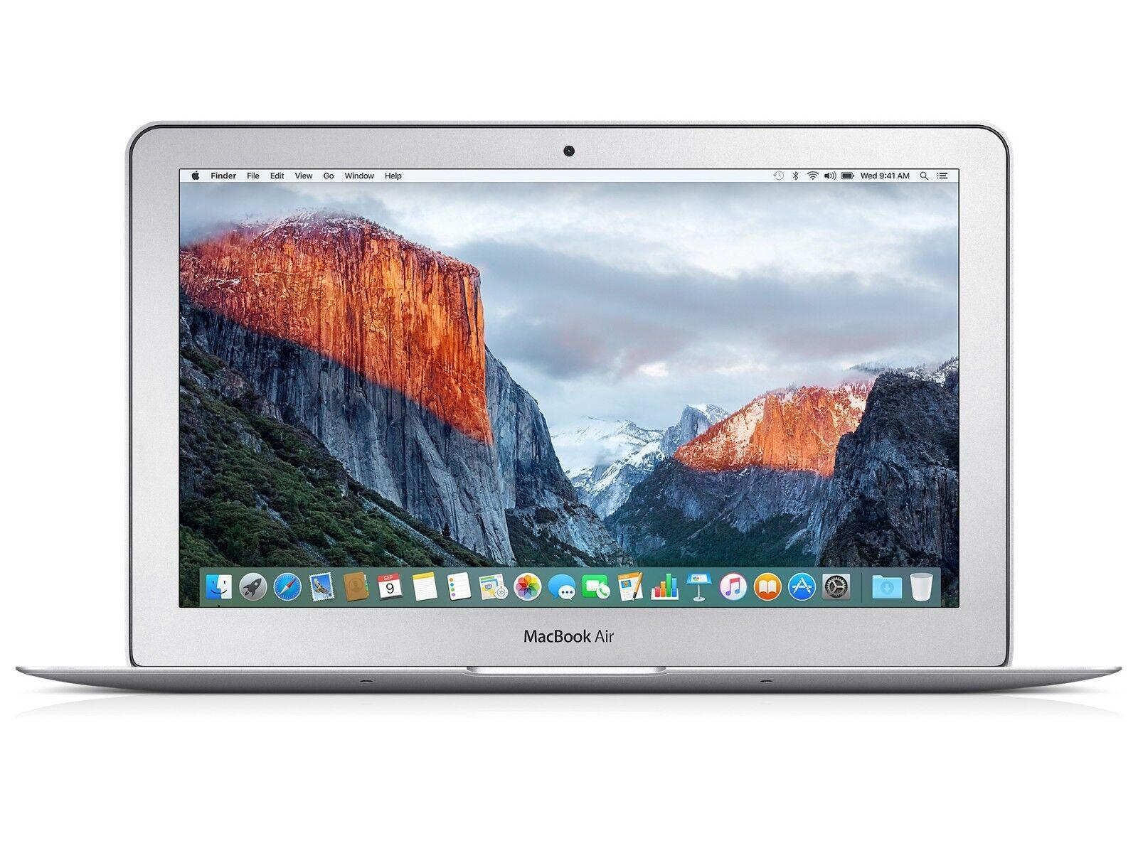 "Apple MacBook Air 11.6"" LED Laptop 1.6GHz Intel i5 4GB 128GB SSD MJVM2LLA 2015"