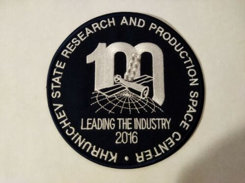 Patch 100 leading the industry 2016 Khrunichev Space Center Proton Baikonur