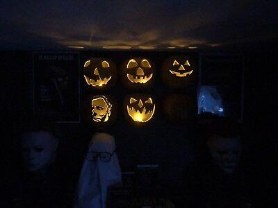 Michael Myers Halloween Pumpkin Wall Hanger (Michael Myers Pumpkin)