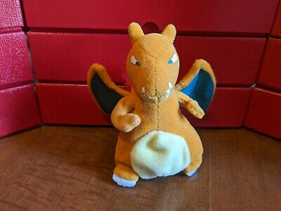 Vintage Charizard Pokemon Plush Treat Keeper