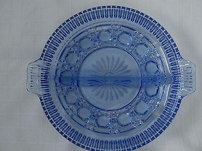 INDIANA GLASS CO. WINDSOR / ROYAL BRIGHTON RELISH DISH