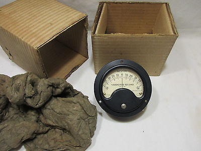 Vintage Weston Model 643 Ks-8798 Yards Per Second Meter New In The Box