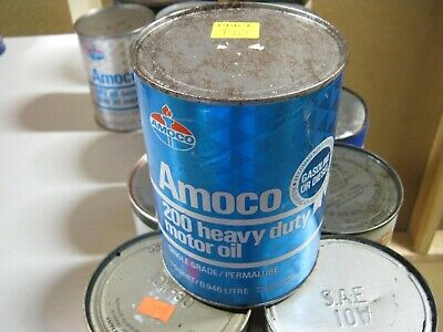 VINTAGE OIL CAN COLLECTION SELL OUT FREE SHIPPING Amoco #2