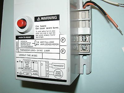 Honeywell R4184d1027 1001 Oil Burner Primary Control 45 Second Warranty