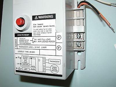 Honeywell R4184d1027 1001 Oil Burner Primary Control 45 Second Warranty