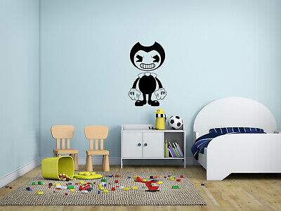 At Home Decor And Design Bendy And The Inkmachine Wall Sticker - Decal Kid's Room   Flowers For Home Decoration