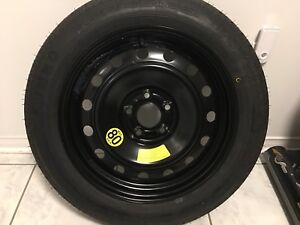 Genesis Coupe spare tire