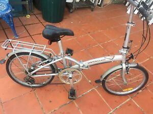 Fold away all aluminium bike 6 speed