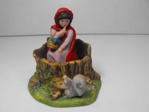 "Vintage 1986 ""Red Riding Hood"" Porcelain Figure Franklin Mint, Maggie Murphy"
