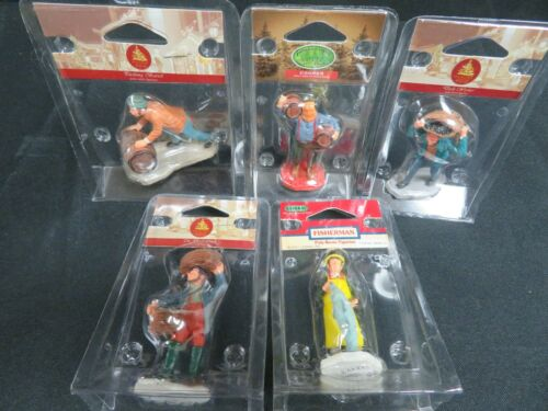 Lot (5) Lemax Assorted Nautical Figurines HE226