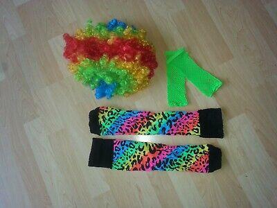 Spielzeug Fasching Kostüm Perücke Clown - Perücke Disco Kostüm Accessoires