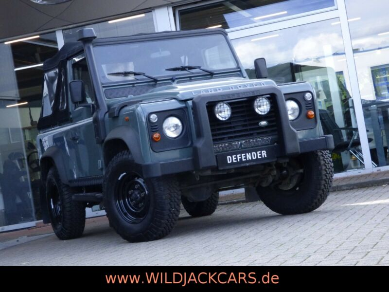 Land Rover Defender 90 Soft Top / CABRIO *RECARO*
