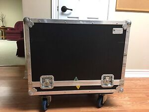 Custom made ROAD CASE FOR COMBO AMPLIFIER