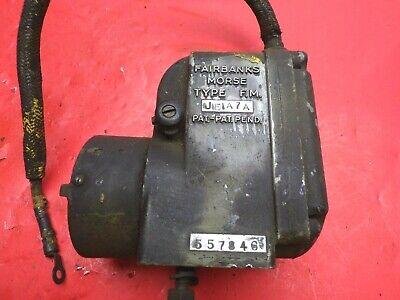 Vintage Fairbanks Morse Magneto Fm Je1a7a 1 Cylinder