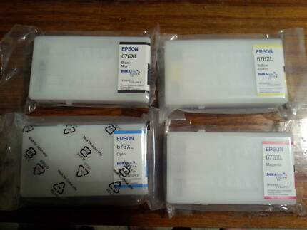 Epson Genuine 676 XL Ink Value Pack - WorkForce WP-4530/WP-4540