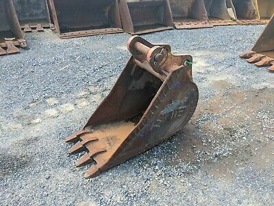 18 Werk-brau Deere Backhoe Bucket 55-50 Mm Pins 8 Sw 12 C-2-c
